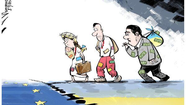 Nový druh uprchlíků v EU - Sputnik Česká republika