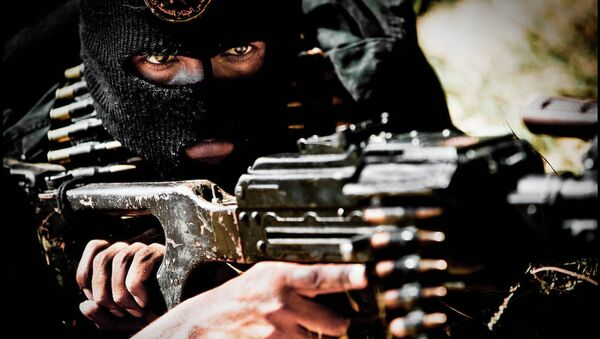 Bojovník ISIL - Sputnik Česká republika