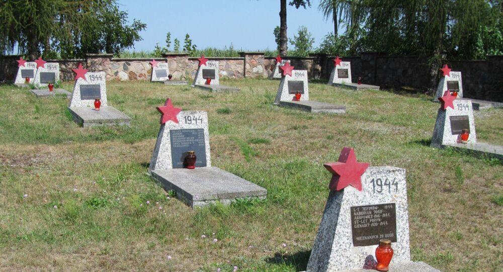 Hřbitov sovětských vojáků