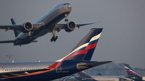 Letadlo Airbus A330 společnosti Aeroflot. Ilustrační foto - Sputnik Česká republika