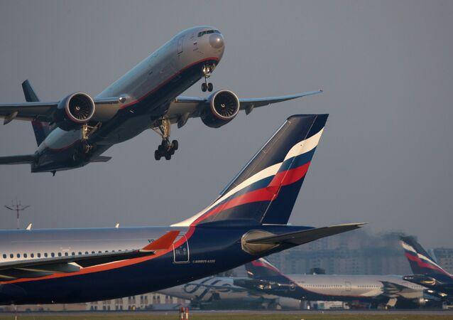 Letadlo Airbus A330 společnosti Aeroflot
