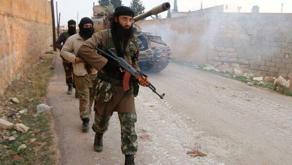 Džihádisté v Sýrii - Sputnik Česká republika