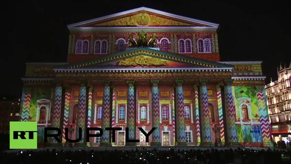 V Moskvě startovala ohromující světelná show - Sputnik Česká republika