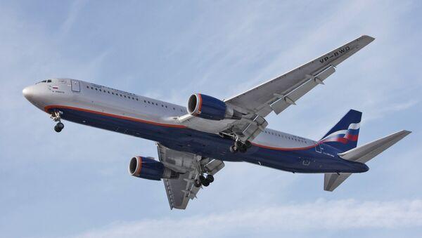 Letadlo Aeroflotu - Sputnik Česká republika