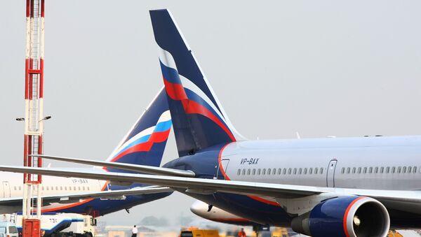 Boeing 767 společnosti Aeroflot  - Sputnik Česká republika