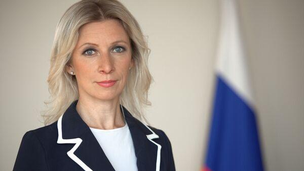 Oficiální mluvčí ruského ministerstva zahraničních věcí Maria Zacharovová - Sputnik Česká republika