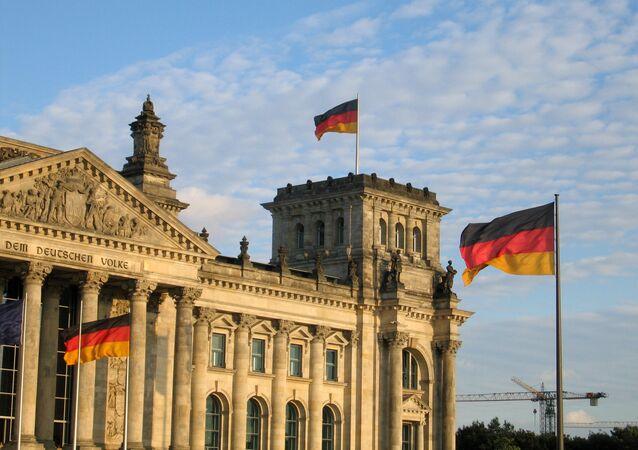 Budova Spolkového sněmu v Berlíně