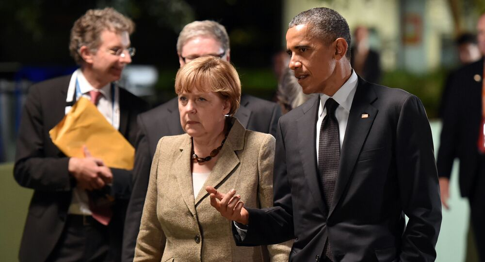 President Obama and Chancellor Merkel at the G20 Summit in November.