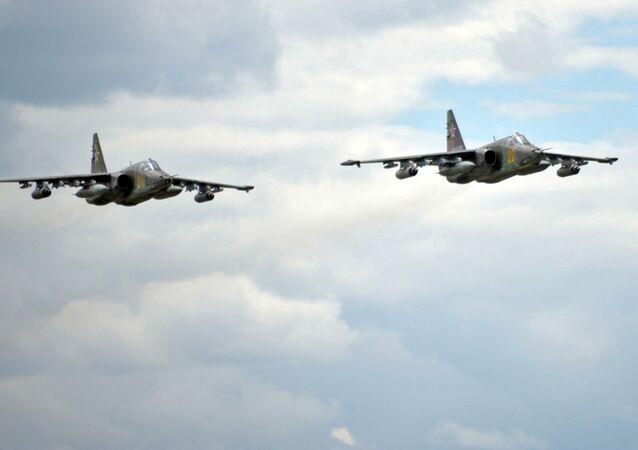 Stíhačky Su-25