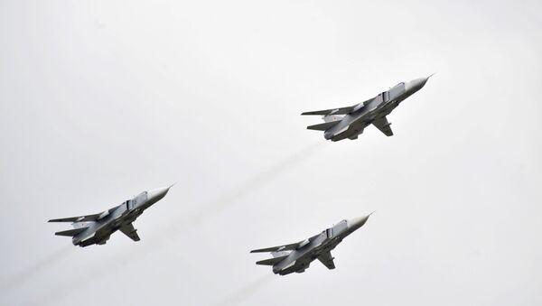 Bombardéry Su-24 - Sputnik Česká republika