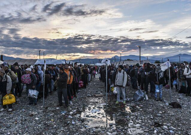Migranti v Makedonii