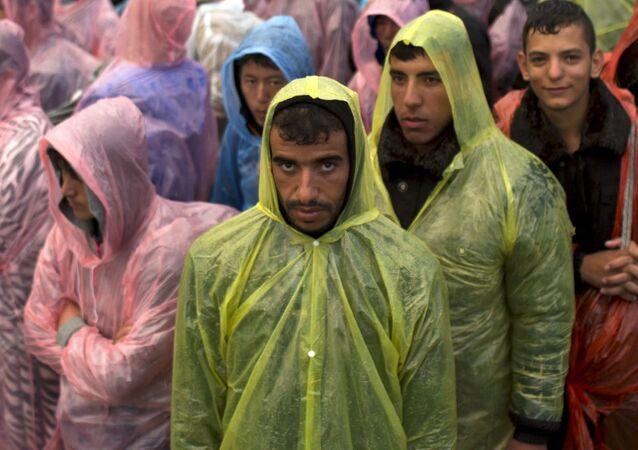 Uprchlíci na srbsko-chorvatské hranici