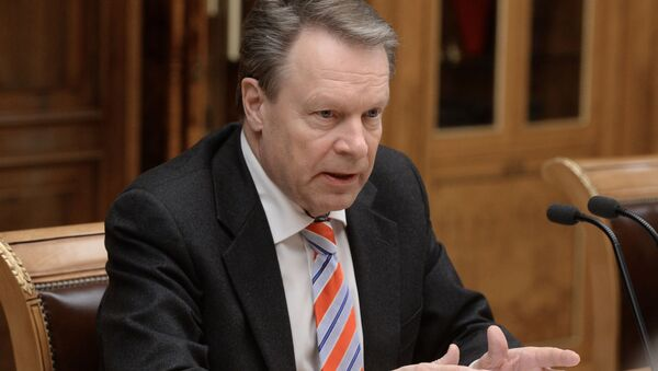 Předseda Parlamentního shromáždění OBSE Ilkka Kanerva - Sputnik Česká republika