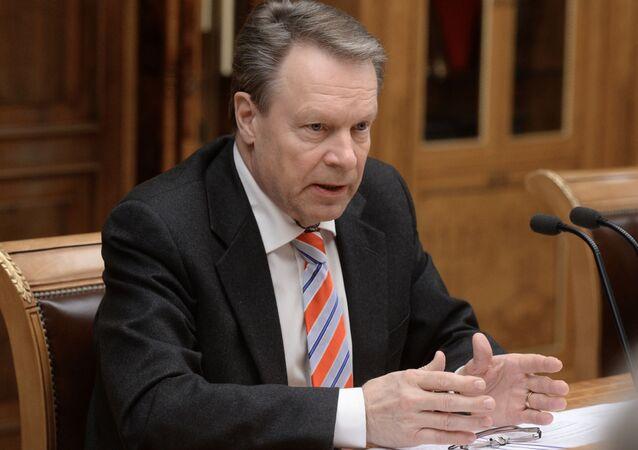 Předseda Parlamentního shromáždění OBSE Ilkka Kanerva