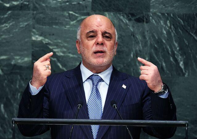 Irácký premiér Hajdar Abádí