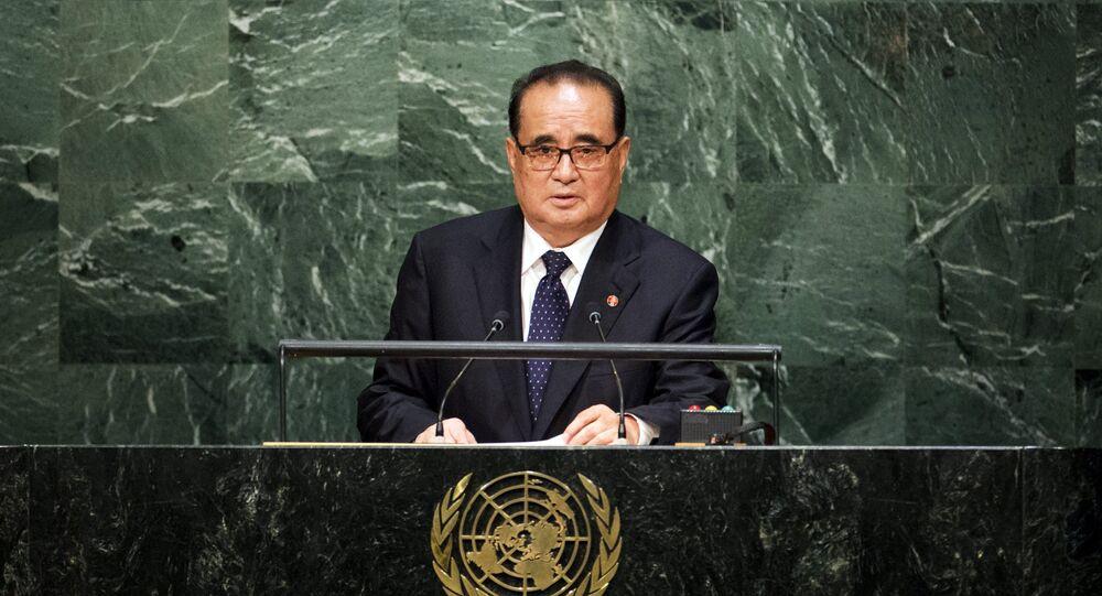 Ministr zahraničí KLDR Li Su-jong