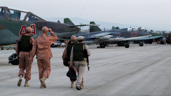 Ruské vojenské letectvo v Sýrii - Sputnik Česká republika