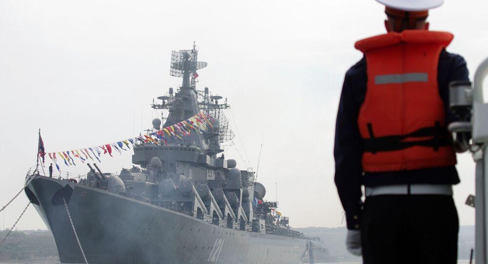 Křižník Moskva Černomořské flotily