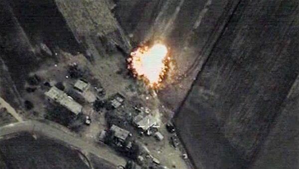 Letecký útok v Sýrii - Sputnik Česká republika