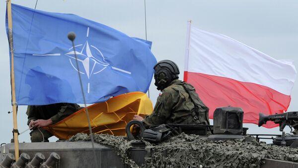Polský voják během cvičení NATO - Sputnik Česká republika