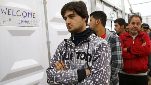 Syrští uprchlíci - Sputnik Česká republika