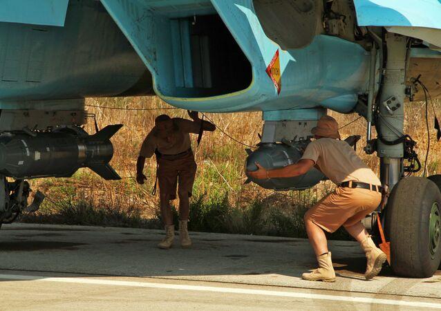 Ruský Su-34 v Sýrii