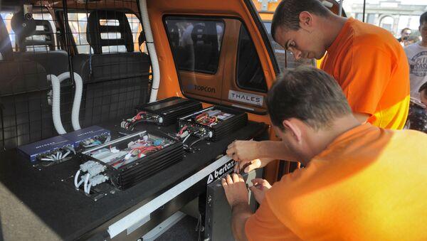Nastavení zařízení bezpilotního auta - Sputnik Česká republika