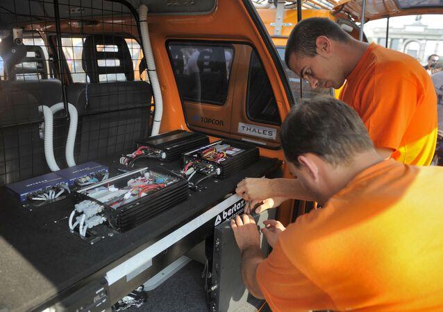 Nastavení zařízení bezpilotního auta