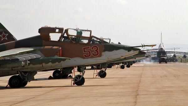Ruská letadla v Sýrii - Sputnik Česká republika