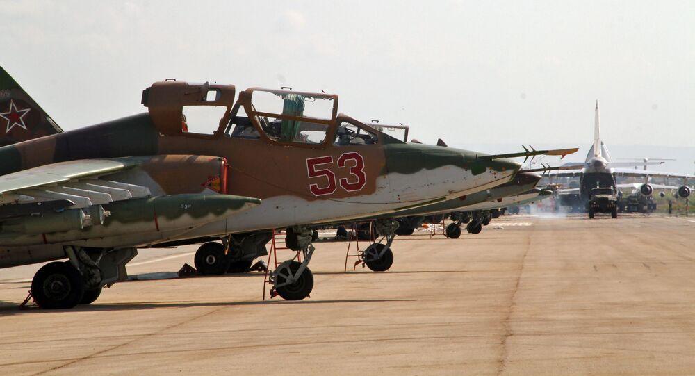 Ruská letadla v Sýrii