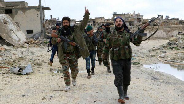 Syrská opozice vedle Aleppo - Sputnik Česká republika