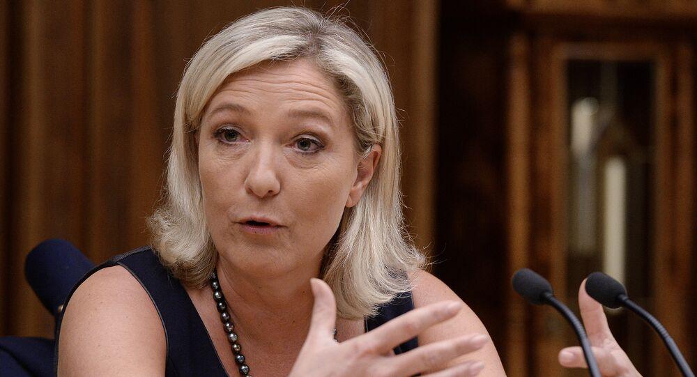 Marine Le Penová, francouzská politička a právnička