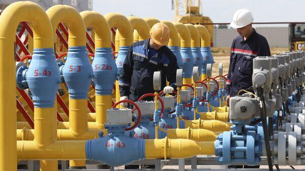 Skladiště plynu, Gazprom - Sputnik Česká republika