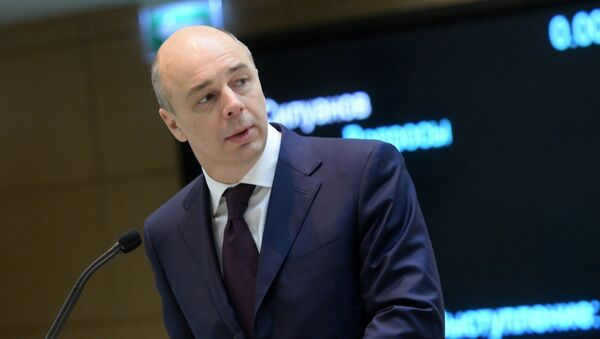 Ruský ministr financí Anton Siluanov - Sputnik Česká republika