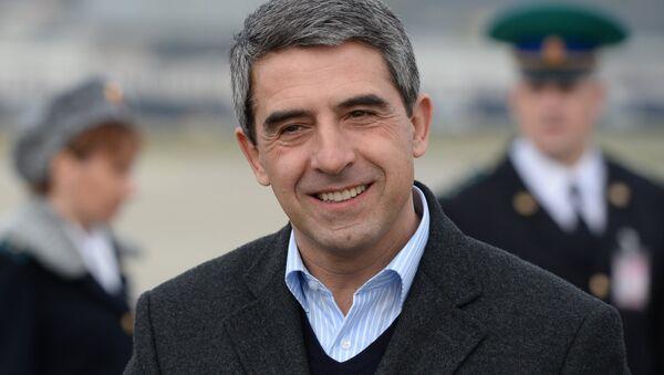 Bulharský prezident Rosen Plevnelijev - Sputnik Česká republika