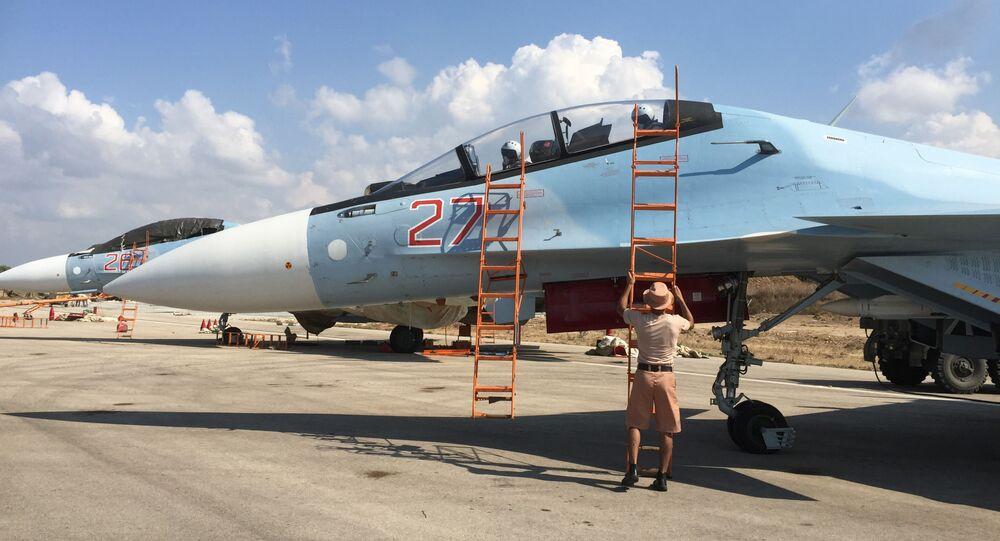 Před vzletem. Jak ruští vojáci pracují na základně Hmeimim