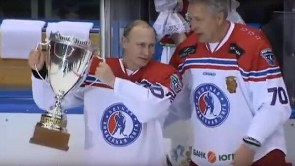 Osm gólů Vladimira Putina - Sputnik Česká republika