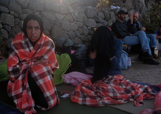 Situace s uprchlíky na ostrově Lesbos