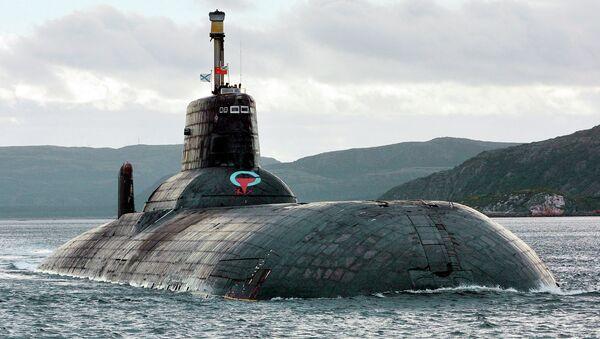 Raketový křižník - ponorka strategického určení projektu 941 Akula - Sputnik Česká republika