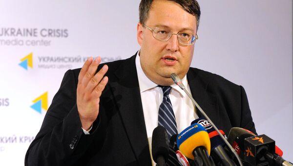 Poradce ministra vnitra Ukrajiny Anton Heraščenko - Sputnik Česká republika