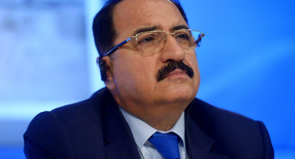 Velvyslanec Sýrie v RF Rijad Haddad