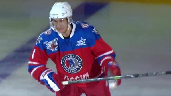 Putin hraje hokej v NHL - Sputnik Česká republika
