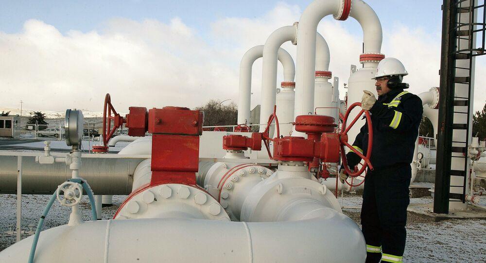 Plynovod v Turecku
