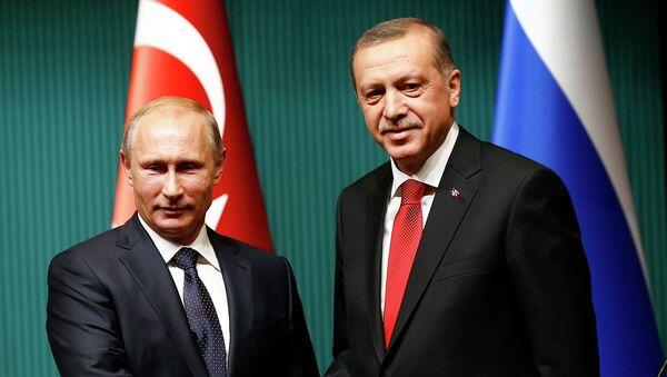 Bylo uvedeno datum Erdoganovy návštěvy v Rusku - Sputnik Česká republika