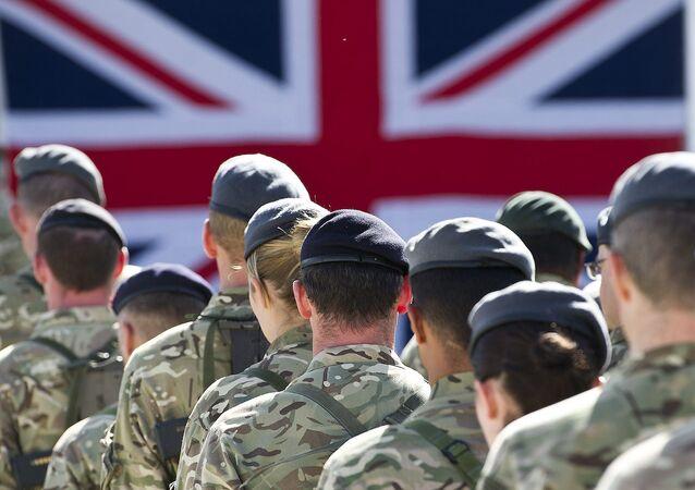 Britiští vojáci