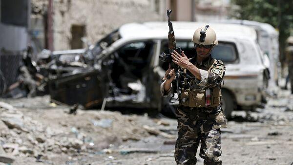 Zástupce afghánských bezpečnostních síl - Sputnik Česká republika