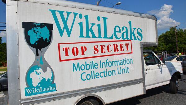Wikileaks - Sputnik Česká republika