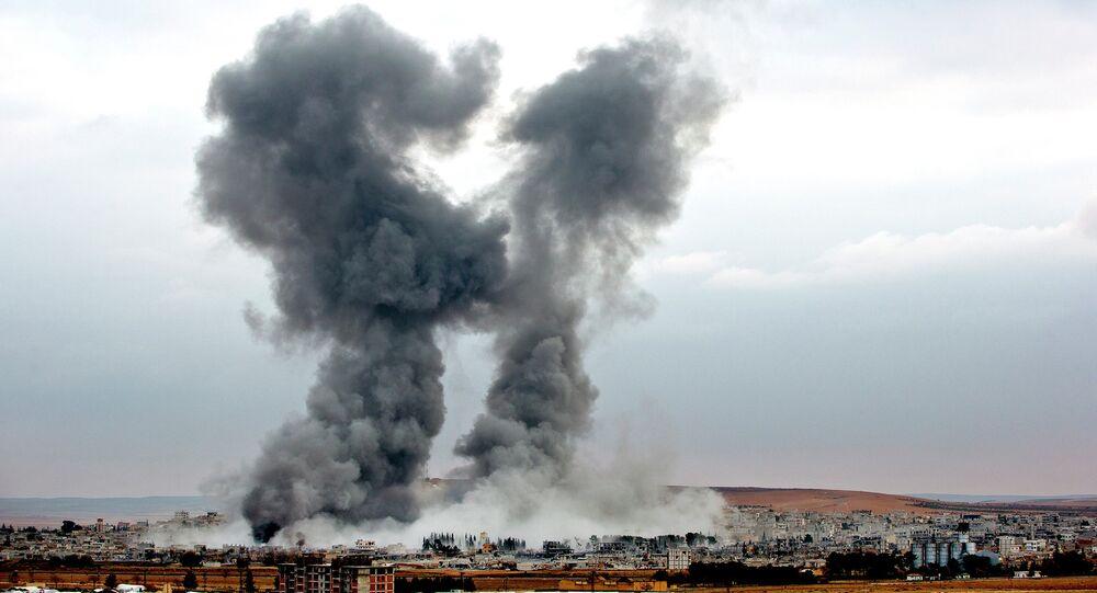 Sýrie, bombardování USA