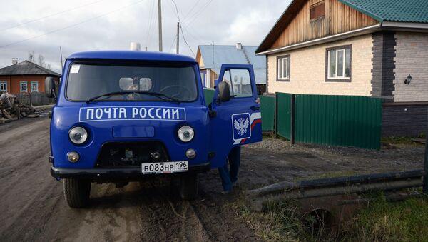 Doručování  pošty do odlehlých míst v Rusku - Sputnik Česká republika