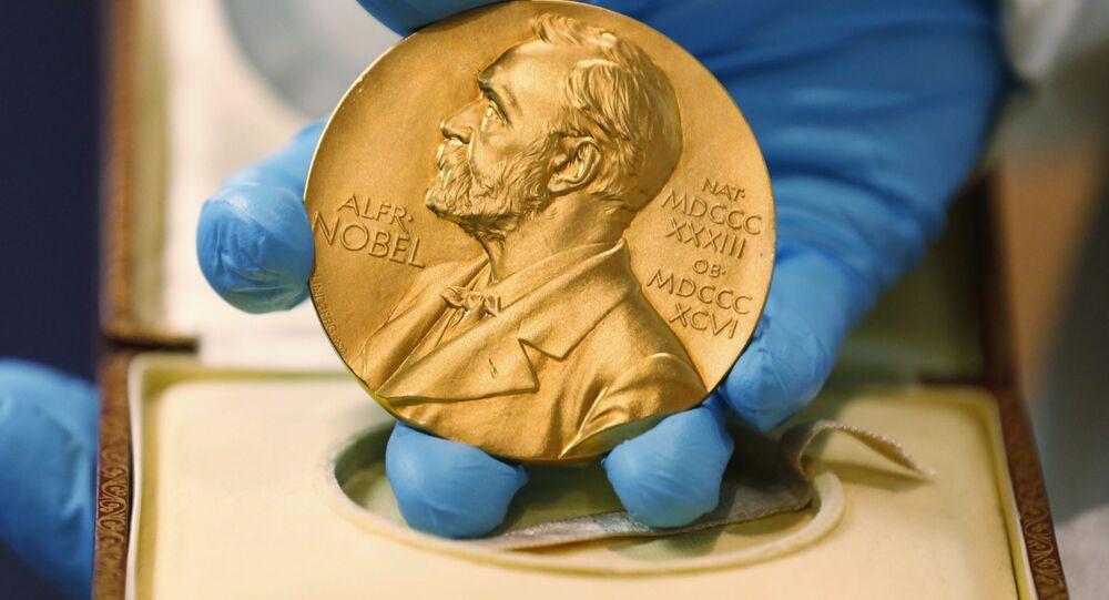Medaile udělována držiteli Nobelovy ceny